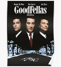 Goodfellas poster Poster