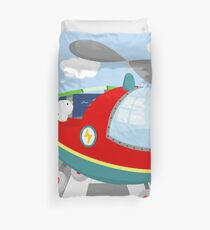 HELICOPTER (AERIAL VEHICLE) Duvet Cover