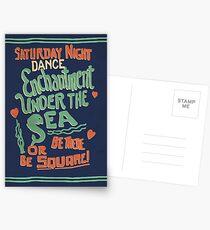 """Enchantment Under the Sea Dance"" Postcards"