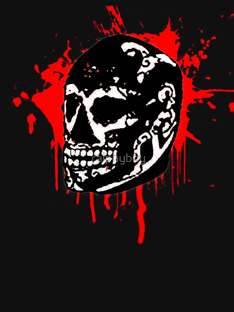 the black skull by ralphyboy