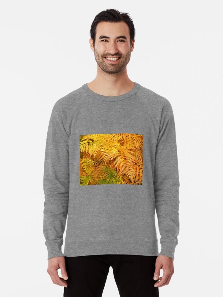 Alternate view of Autumn ferns Lightweight Sweatshirt