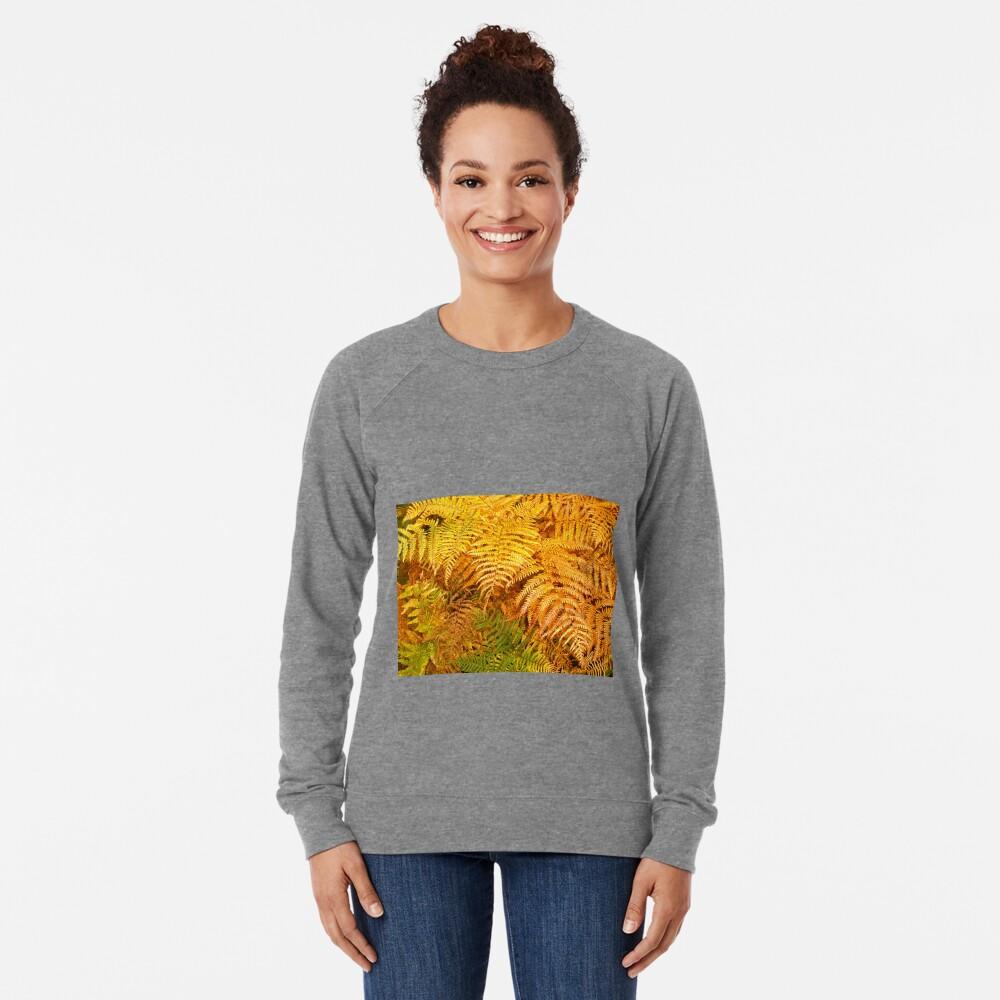 Autumn ferns Lightweight Sweatshirt