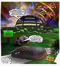 The Great Gastropoda Escape Poster