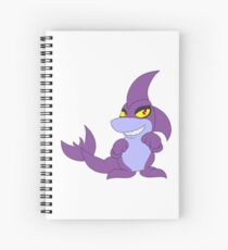 Purple Jetsam Spiral Notebook