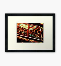 Amusing reflections Framed Print
