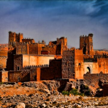 Morocco. The Old Kasbah. by vadim19