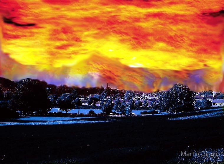 "Fire in the sky'Challenge"" by Martin Dingli"