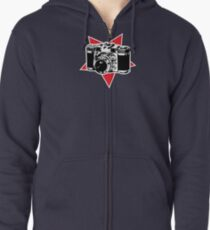 Star Photographer Zipped Hoodie