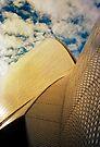 Opera House and stippled sky #1 by Juilee  Pryor