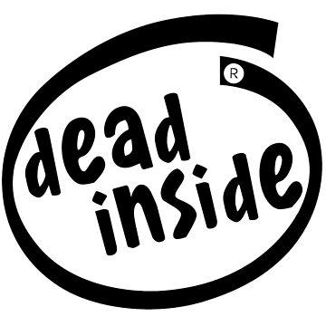 Dead Inside logo v2 by MisterNightmare