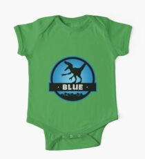 Velociraptor Blue Squad One Piece - Short Sleeve