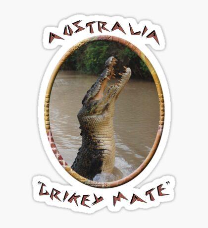 Jumping Croc Australia Sticker