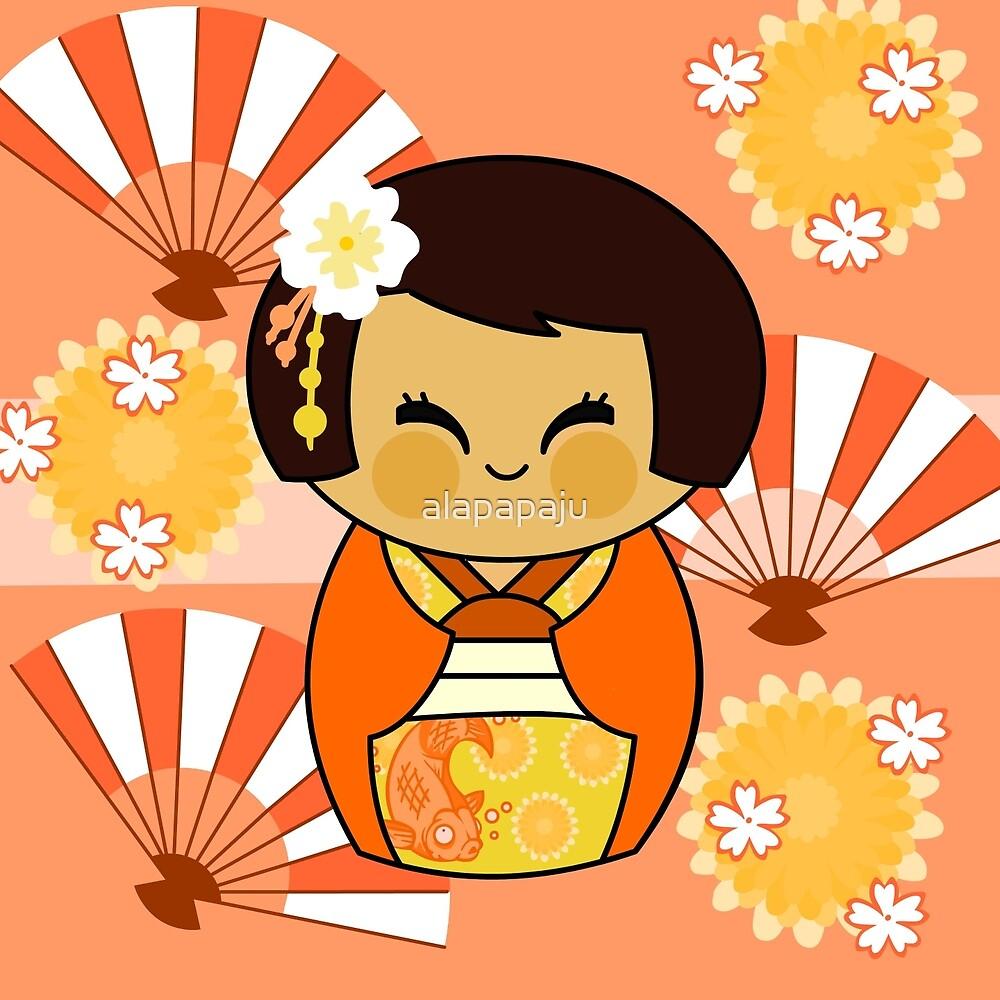 KOKESHI MOMO by alapapaju