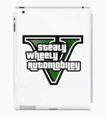 Stealy Wheely Five iPad Case/Skin