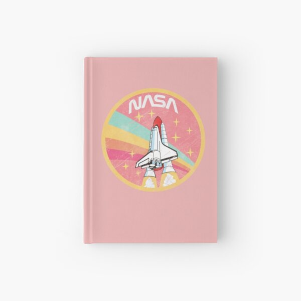 Nasa Pastel Colors - Soft Pink Edition Hardcover Journal