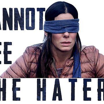 Cannot see the haters Birdbox Movie by metaminas