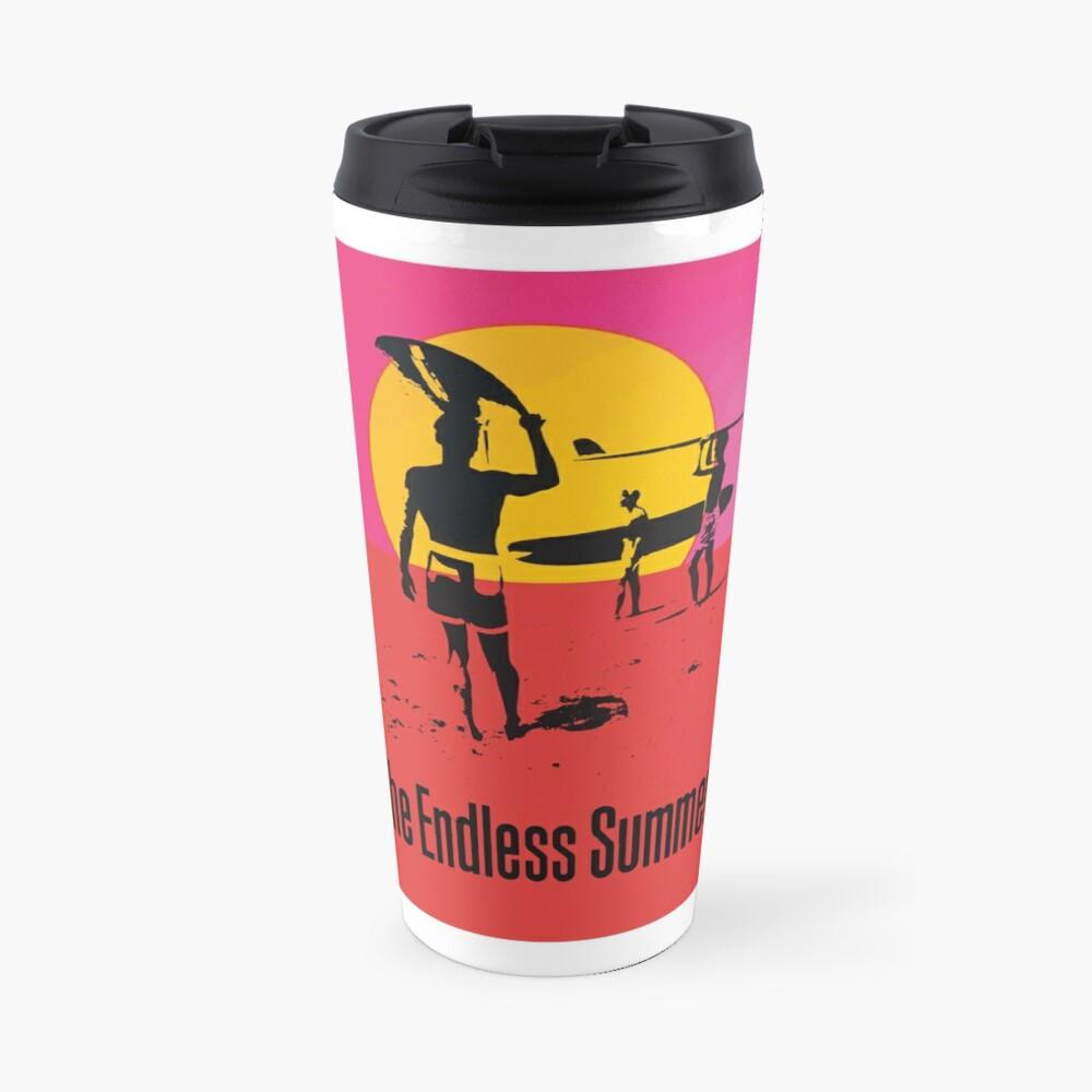 Endless Summer, 1966 Surf Sport Documentary Poster, Artwork, Prints, Posters, Tshirts, Men, Women, Kids Travel Mug