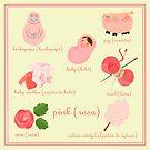 Colors: pink (Los colores: rosa) by alapapaju