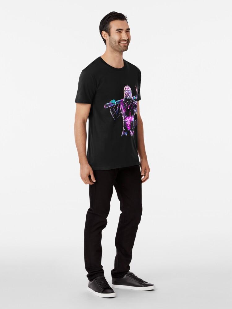 Vista alternativa de Camiseta premium Galaxy diseño predeterminado