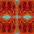 sumar - digital pattern of oil pastel abstract by sdthoart