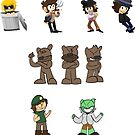 The Oddfather Sticker Pack 1 by PieLordPictures