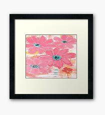 Coral Garden Framed Print
