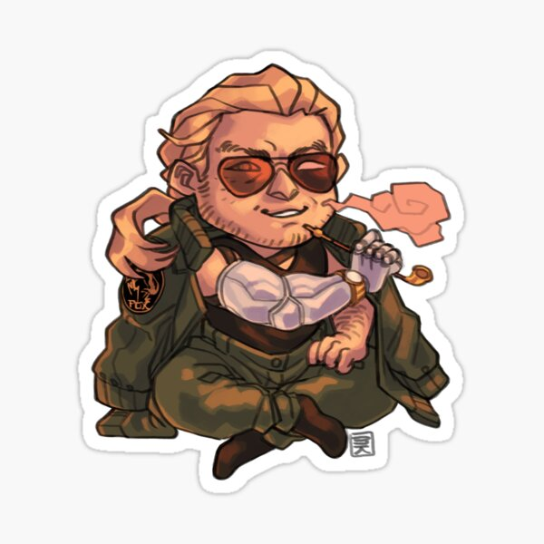 Master Miller Stickers Redbubble Kazuhira mcdonell benedict miller, don't you dare pull that pin. redbubble