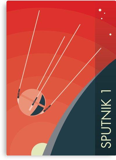 Sputnik 1 by spacewalkwithme