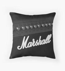Marshall Amp Throw Pillow