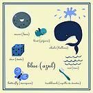 Colors: blue (Los colores: azul) by alapapaju