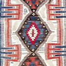 Afyon  Antique Phrygian Turkish Kilim by Vicky Brago-Mitchell