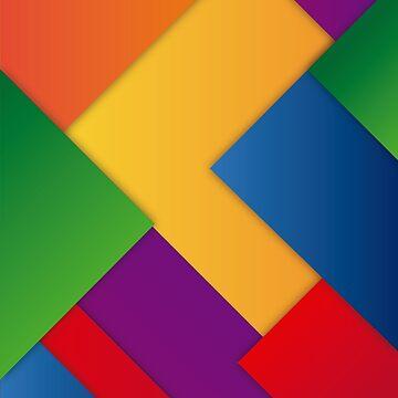 LGBT MINIMAL DESIGN PRIDE  by revolutionlove