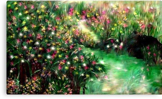 THE MAGICAL GARDEN** ITS A WONDERFUL WORLD ..LOUIE ARMSTRONG by SherriOfPalmSprings Sherri Nicholas-