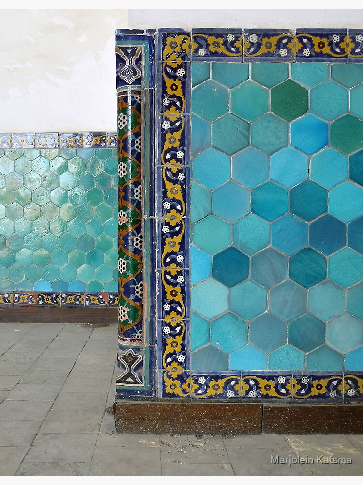 Bukhara Blue (1) by marjoleink