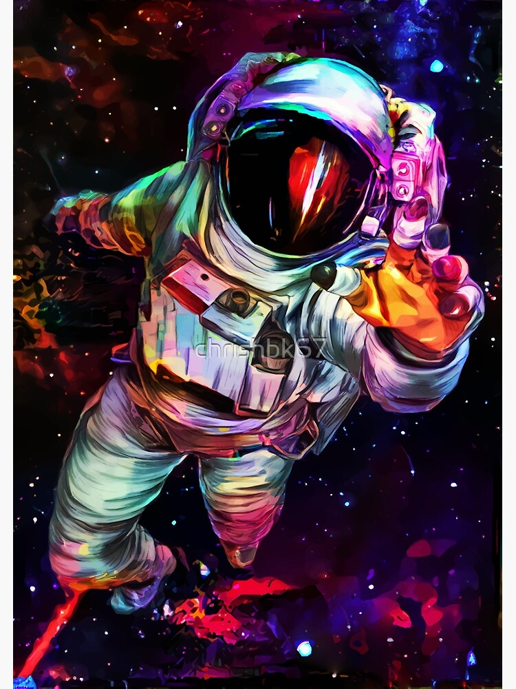 Deep Colour Astronaut by chrishbk67