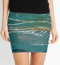 Today the Land Looks Like Sea Mini Skirt