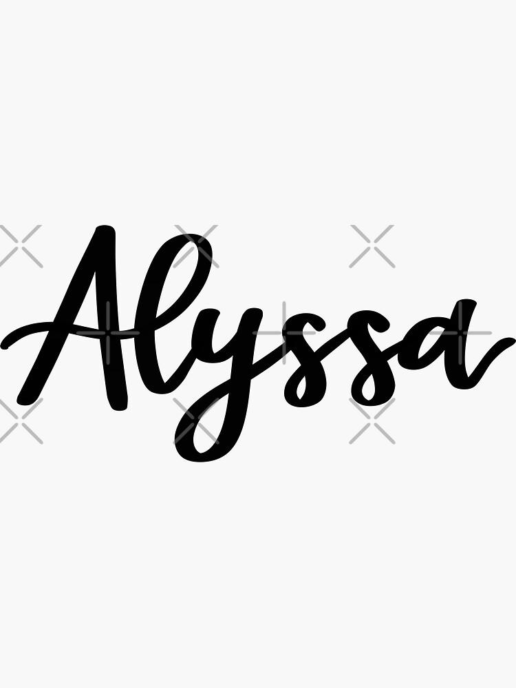 Alyssa  by ellietography