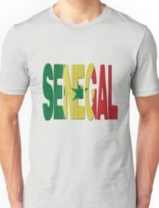 Senegal flag Unisex T-Shirt