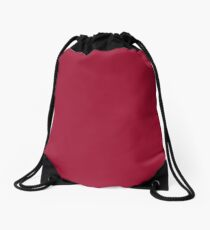 Jester Red | Pantone Fashion Color | Spring : Summer 2019 | New York and London | Solid Color Drawstring Bag