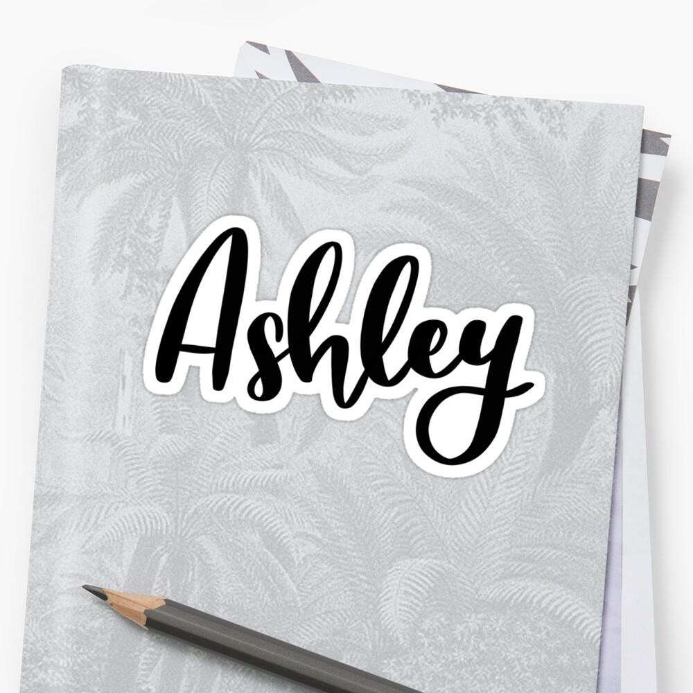 Ashley  Sticker