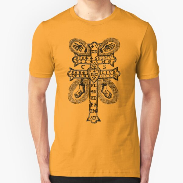 Plague Cross Slim Fit T-Shirt