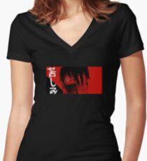 N a g a // 3 Shirt mit V-Ausschnitt