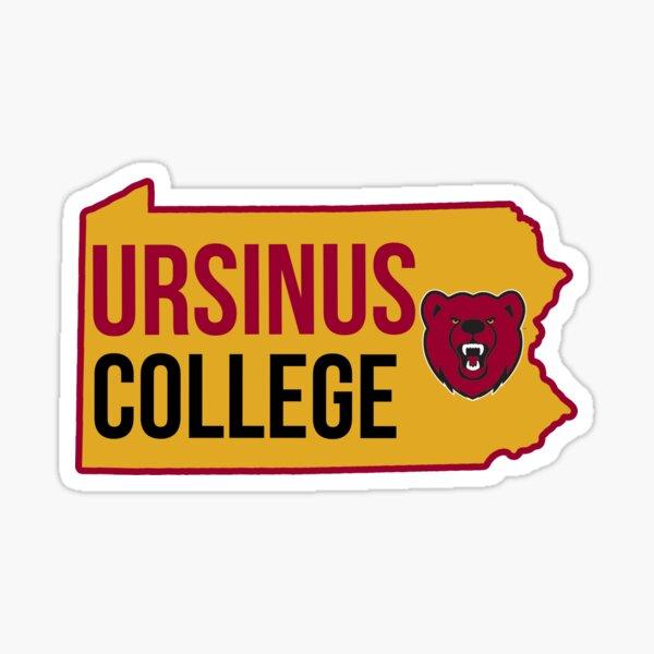 Ursinus College State Silhouette Sticker
