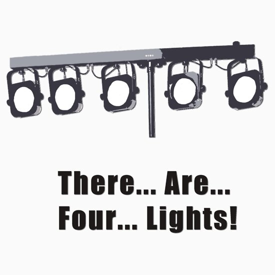 TShirtGifter presents: There are Four Lights