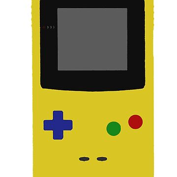 Gameboy Colour by RaptureTees