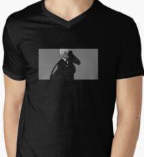 N a g a // 5 T-Shirt mit V-Ausschnitt für Männer