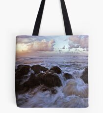 Last Light at Miami Tote Bag