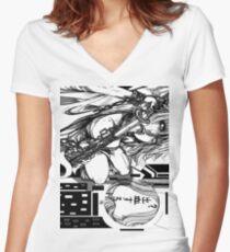 N a g i s a // 2 Shirt mit V-Ausschnitt