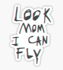 "Travis Scott ""Look Mom I Can Fly"" Sticker"