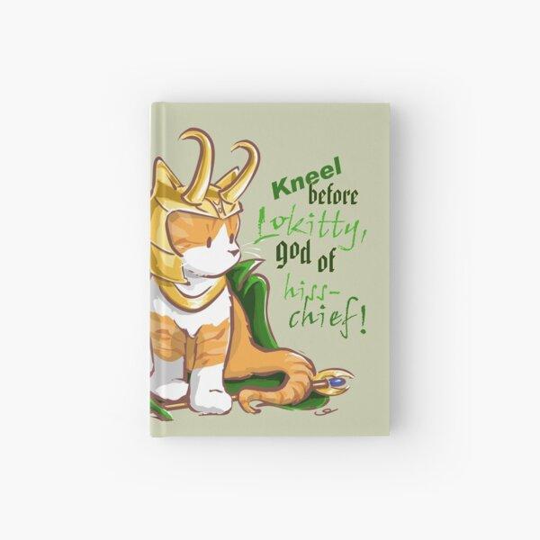 Kneel Before Lokitty! (chibi version) Hardcover Journal